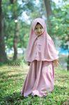 Gamis Set Ruqoyyah Lilac Size 2