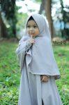 Gamis Set Ruqoyyah Grey 4