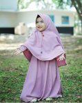 Gamis Set Ruqoyyah Lilac Size 8