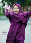 Gamis Set Ruqoyyah Purple Size L