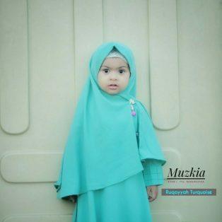 Gamis Set Ruqoyyah Turquoise Size 12