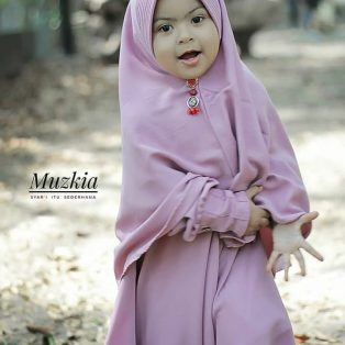 Gamis Set Ruqoyyah Lilac Size 0