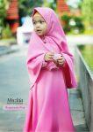 Gamis Set Ruqoyyah Pink Size 4