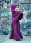 Gamis Set Ruqoyyah Purple Size 2