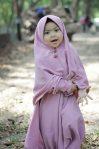 Gamis Set Ruqoyyah Lilac Size 12