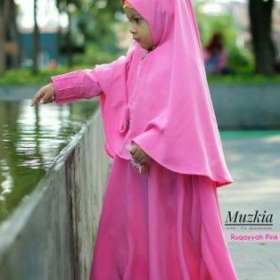 Gamis Set Ruqoyyah PinkSize 6