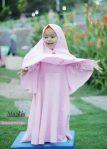 Gamis Set Ruqoyyah Series Pink Baby Size 8