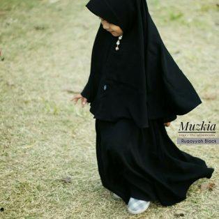 Gamis Set Ruqoyyah Series Black Size 0