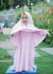 Gamis Set Ruqoyyah Series Pink Baby Size 2